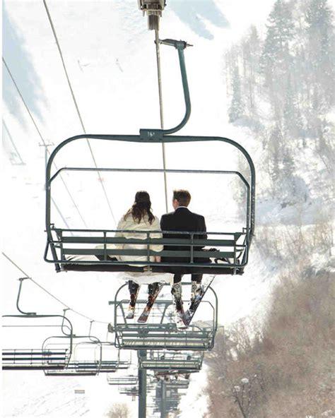 A Rustic Winter Destination Wedding In Sundance Utah