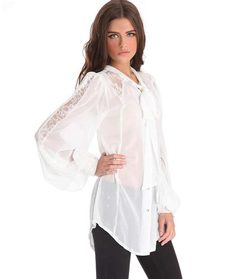 sheer white blouse white sheer blouse fashion ql
