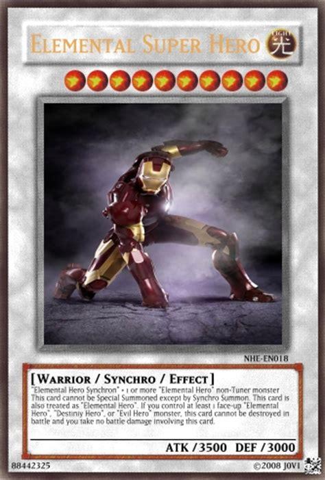 elemental super hero yu gi  card maker wiki fandom
