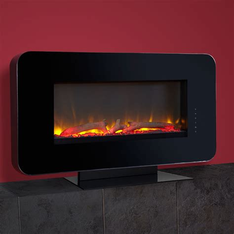 celsi touchflame wall mounted electric fire fireplaces