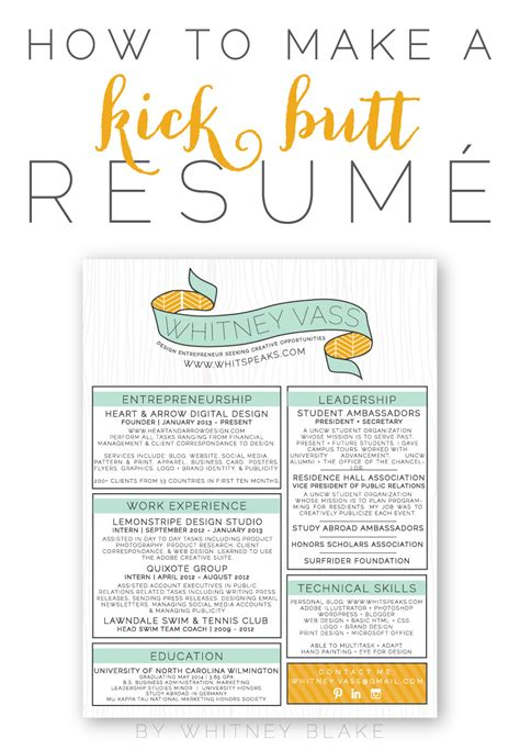 How To Get Your Resume On Your Iphone by How To Make A Kick Resum 233
