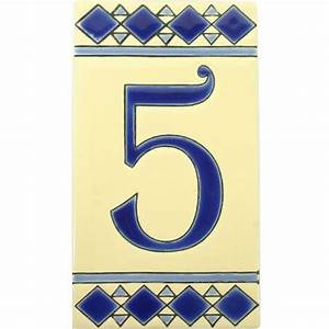 diamante azul mexican tile numbers mexican tile designs With tile house numbers and letters