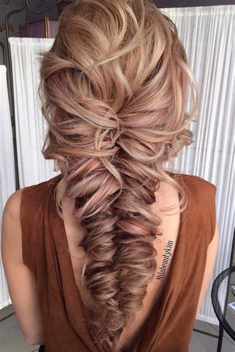 fancy prom hairstyles  long hair prom hair