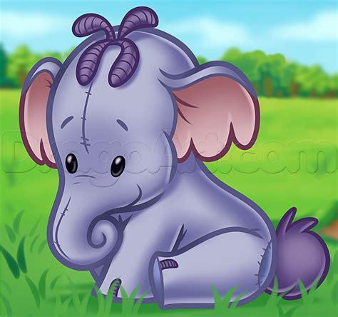 How To Draw Chibi Lumpy Heffalump Step By Step Disney