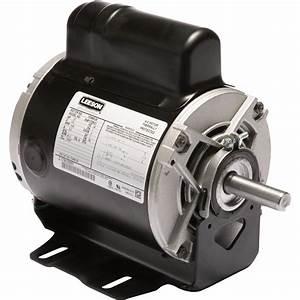 Leeson Instant Reversing Electric Motor  U2014 1  2 Hp  1 625
