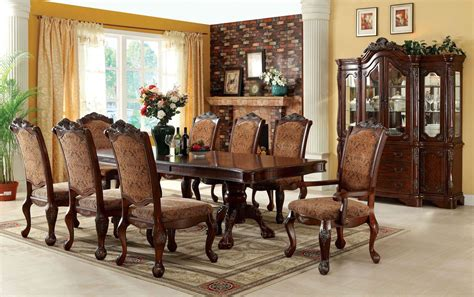 furniture dining room sets cromwell antique cherry formal dining room set cm3103t