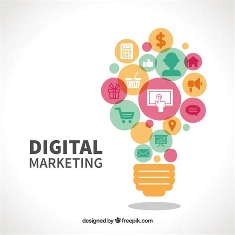 Free Digital Marketing by Digital Marketing Vector Free