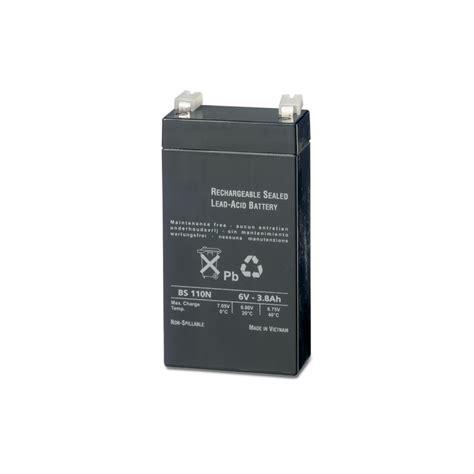 Batterie Bs 110n Akku 6 Volt 3 8 Ah