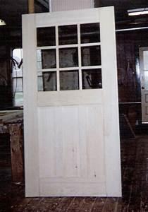 Custom built wood exterior doors; Entryway, Arch top ...