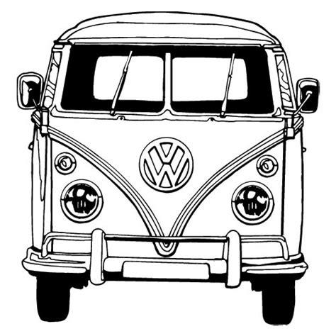 volkswagen bus drawing vw bus tekening google zoeken transzfer minták