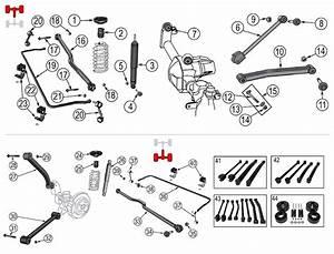 Diagram Suspension Jeep Jk Wrangler 2007  2017