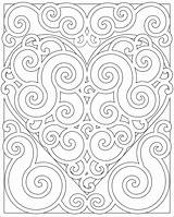 Coloring Pattern Adults Heart Mandala Patterns Abstract Swirl Teens Hearts Mandalas Colouring Printable Bestcoloringpagesforkids Cool Teen Swirly Para Popular Template sketch template