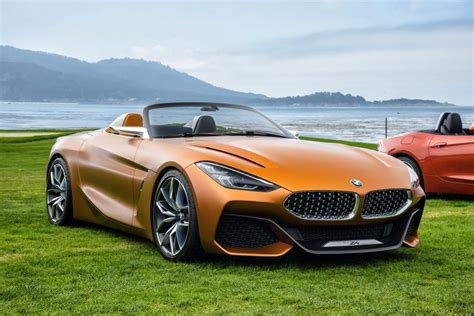 Bmw Lets The California Air In With Concept Z4 Roadster