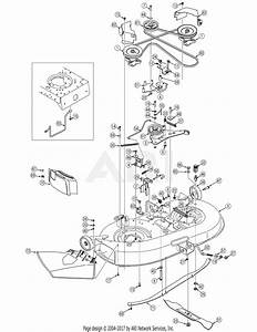 Troy Bilt 13bx60tg711 Super Bronco  2007  Parts Diagram For Deck Assembly 42 Inch