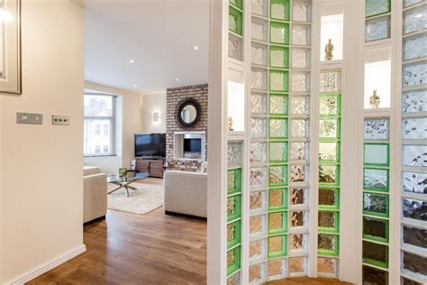 interior glass walls for homes 4 ideas for glassblock at home mybktouch com