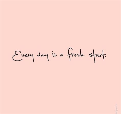 Every Day Is A Fresh Start  The Red Fairy Project