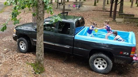 Truck Bed Pool Liner by Pools For Truck Bed Shark Tank Products