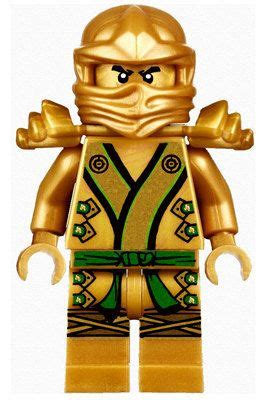 lego ninjago gold ninja lloyd big peel  stick reuseable