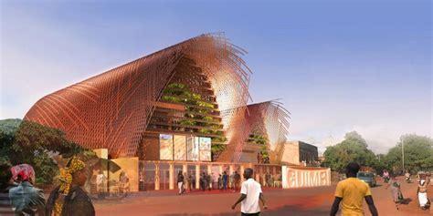 Plancher collaborant pour la construction du cinéma Guimbi ...