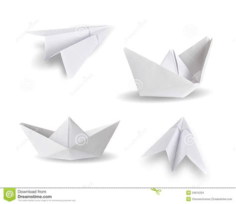 Boat Shipping Papers by Paper Ships And Paper Planes Stock Images Image 34915234