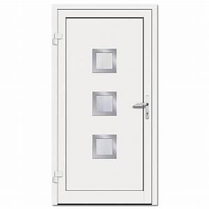 Porte de service pvc pas cher for Porte d entrée pvc en utilisant prix d une fenetre pvc sur mesure