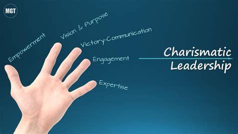 finger model  charismatic leadership martina
