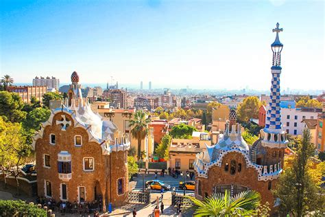 Barcelona's Park Guell – Another Masterpiece by Gaudi ...