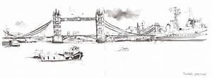 London Bridge Dessin : london sketched londres en dessins tea time in wonderland ~ Dode.kayakingforconservation.com Idées de Décoration