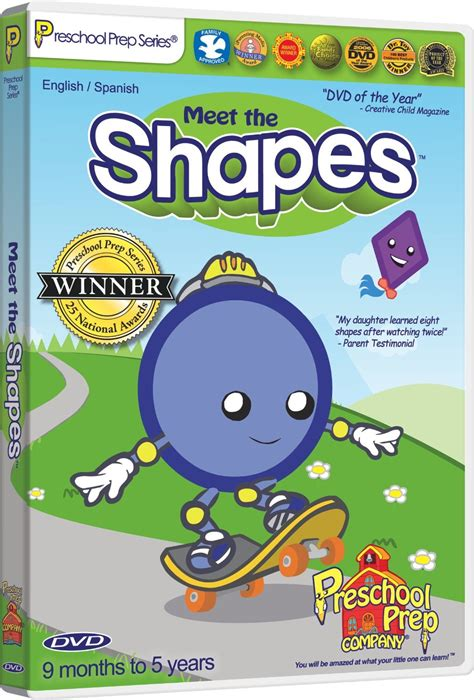 preschool prep meet the shapes best educational infant 449 | meet%20the%20shapes%20dvd