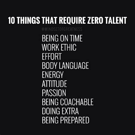 10 Things That Require Zero Talent  Bobbi's Blog