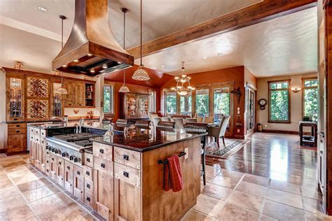 kitchen design ideas with islands 35 beautiful rustic kitchens design ideas designing idea