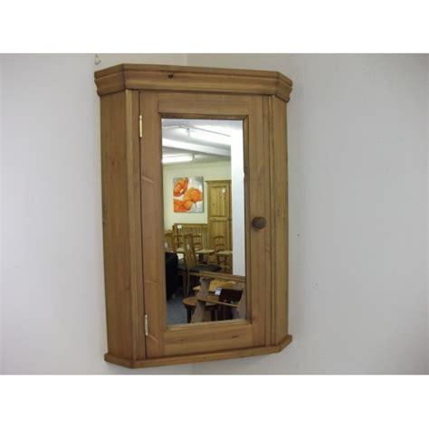 Corner Bathroom Cabinet With Mirrored Door W51cm