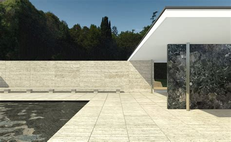 Mies Der Rohe Barcelona Pavillon by M Classic Barcelona Pavilion Mies Der Rohe