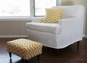 diy armchair slipcover kovi With diy armchair covers