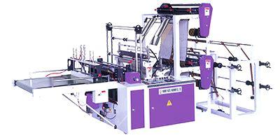 double layer  lane servo control sealing cutting machine parkins