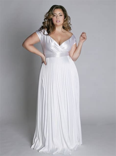 Dressing up the curvy and plus size bride - real photo pictures | Exquisite Womenu0026#39;s Dresses