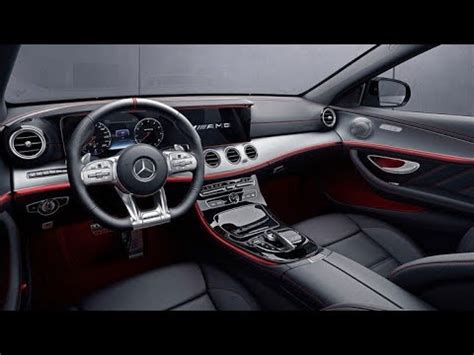 mercedes benz  class coupe interior youtube
