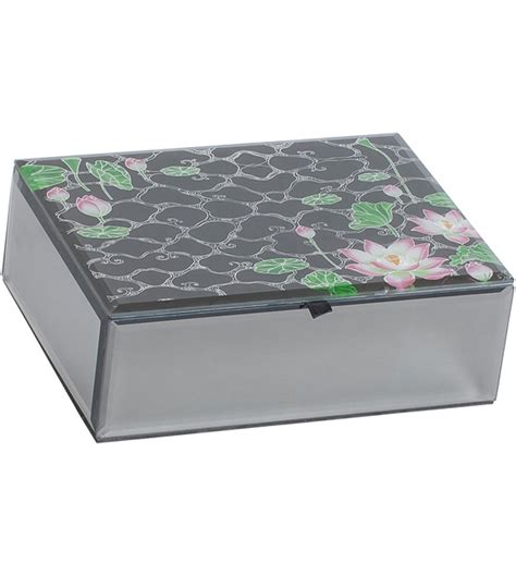 mirrored glass jewelry box mirrored glass jewelry box pond in jewelry boxes 7534