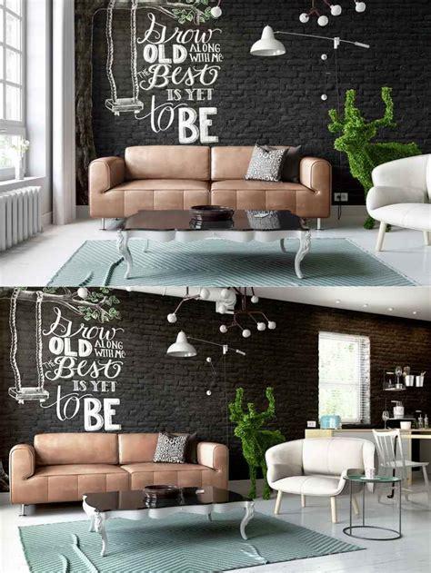 salon noir idees de decorations en couleurs sombres