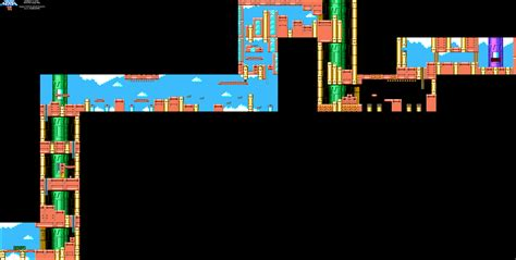 Mega Man 6 Wind Man Stage Map Png Neoseeker Walkthroughs