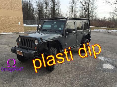 plasti dip jeep blue jeep wrangler plasti dip grill youtube