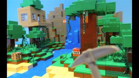 lego minecraft jungle youtube