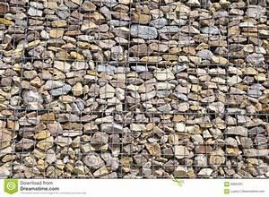 Mur En Gabion : mur de gabion photo stock image 5084320 ~ Premium-room.com Idées de Décoration