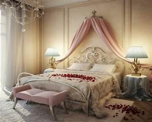 idee deco pour chambre romantique visuel 5 With idee deco chambre romantique