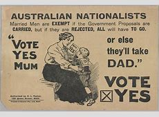 Women and the Conscription debate – Old Treasury Building