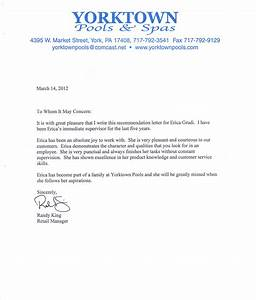 tips for writing a letter of recommendation With refrence letter template