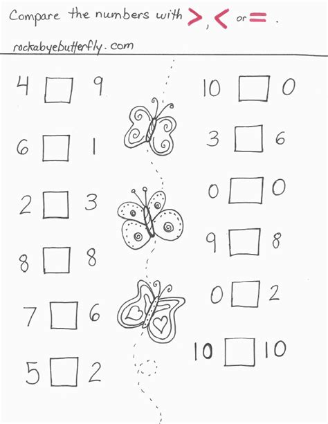 Greater Than And Less Than Worksheets Homeschooldressagecom