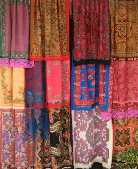 scarf curtains the jungalowthe jungalow