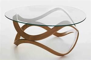 Table Verre Bois : table bois verre design maison design ~ Teatrodelosmanantiales.com Idées de Décoration