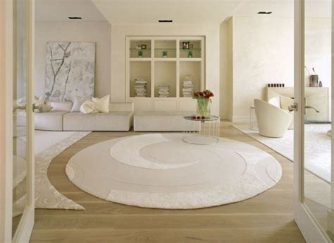 White Round Extra Large Bathroom Rug  Large Bathroom Rugs